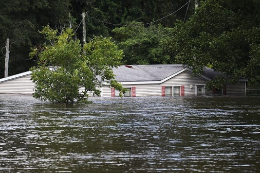 Carolinas Coast Line Recovers From Hurricane Florence As Storm Continues To Pour Heavy Rain On The States