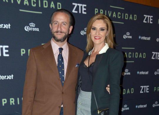 Chantal Andere, sin problemas con su esposo Enrique Rivero Lake.