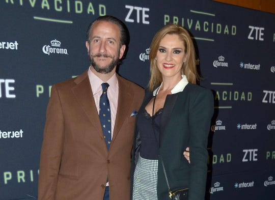 Chantal Andere, sin problemas con su esposo Enrique Rivero Lake.