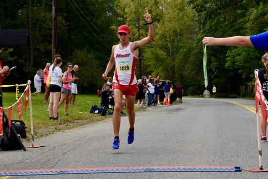 Nick Cruz wins the half marathon at the 40th Dutchess County Classic on Sunday in LaGrangeville.