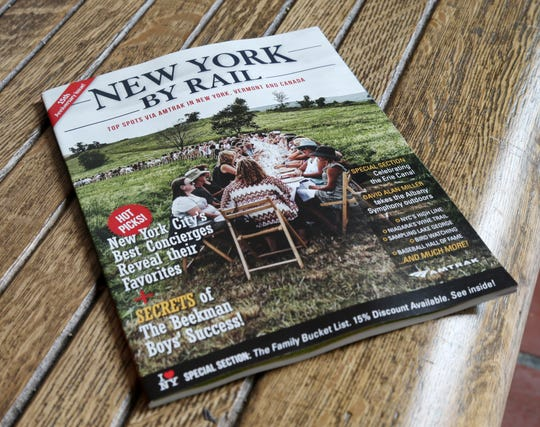 The 15th anniversary edition of New York By Rail magazine on September 13, 2018. The magazine is published by Tom Martinelli and focuses on rail travel in New York, Vermont and Canada.