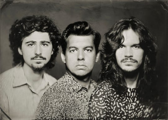 The Restless Age, from left, Lee Falco, Brandon Morrison and Will Bryant