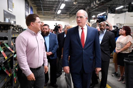 Senator Casey Tours Tooling Dynamics In York