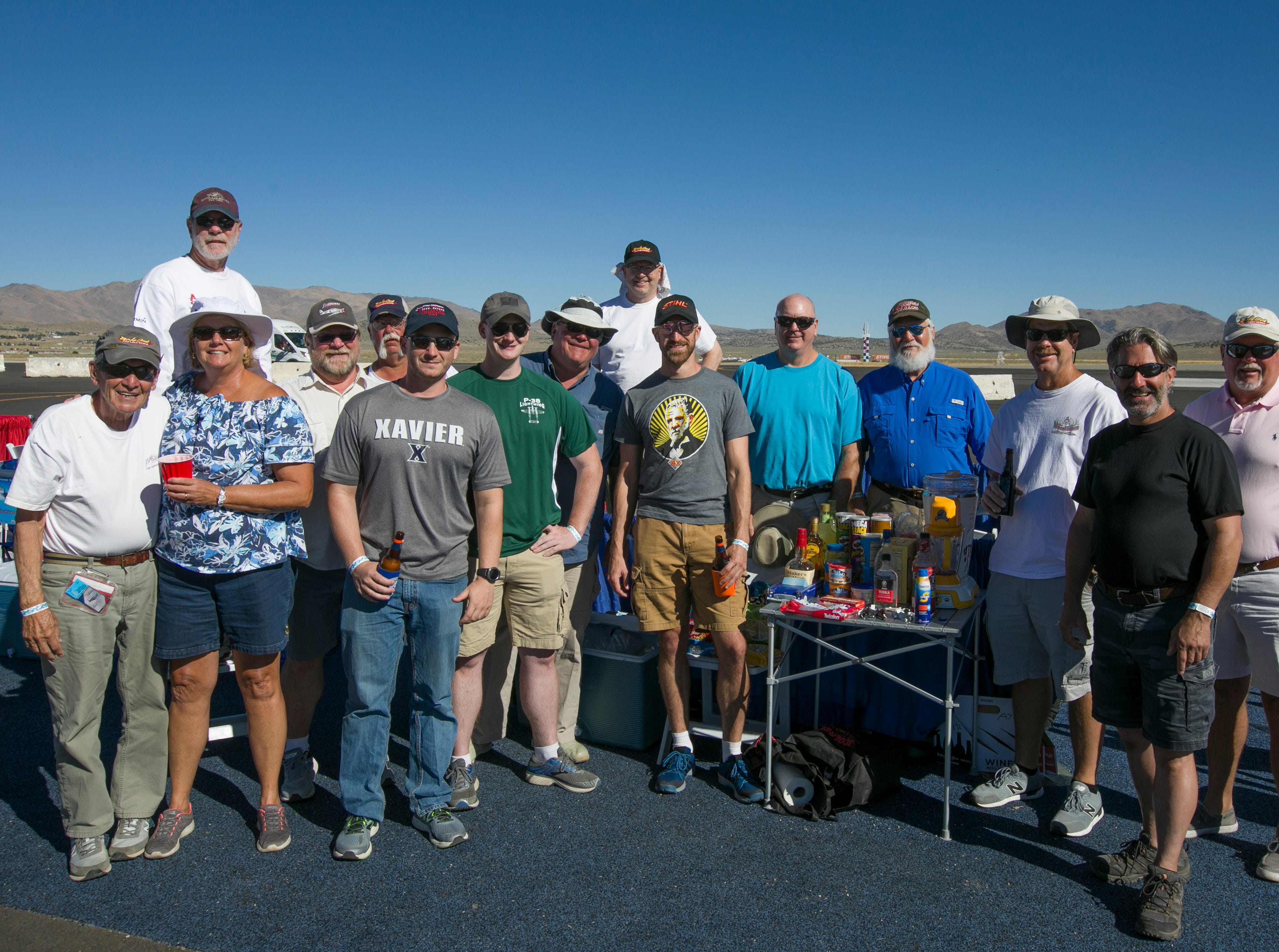The Cincinnati Guys during the Reno National Championship Air Races on Sunday, Sept. 16, 2018.