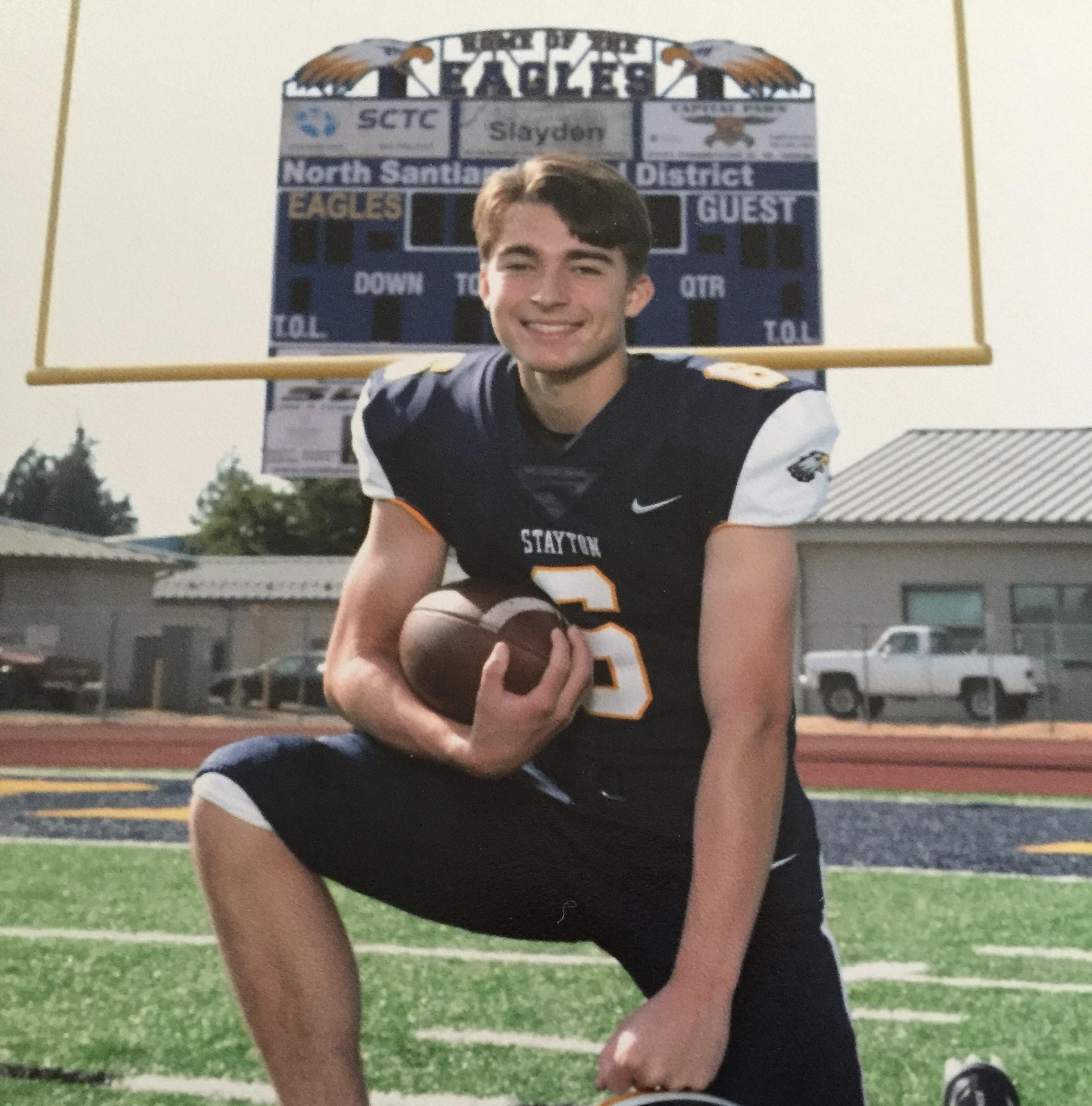 Stayton's Ben Rash named SJ Athlete of the Week in reader poll