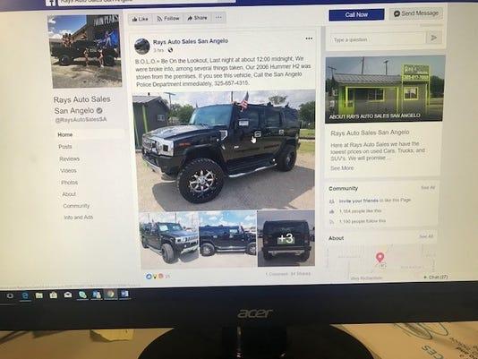 Hummer Theft