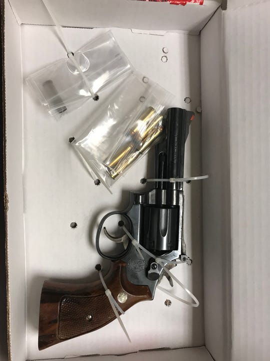 This handgun, which was reported stolen in April 2018, was recovered by Salisbury police officers during a traffic stop on Monday, Sept. 17, 2018.