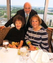 Anne Higdon, Steve and Susan Whitelaw at Steve and Berry Glassell's 50th Anniversary Dinner.
