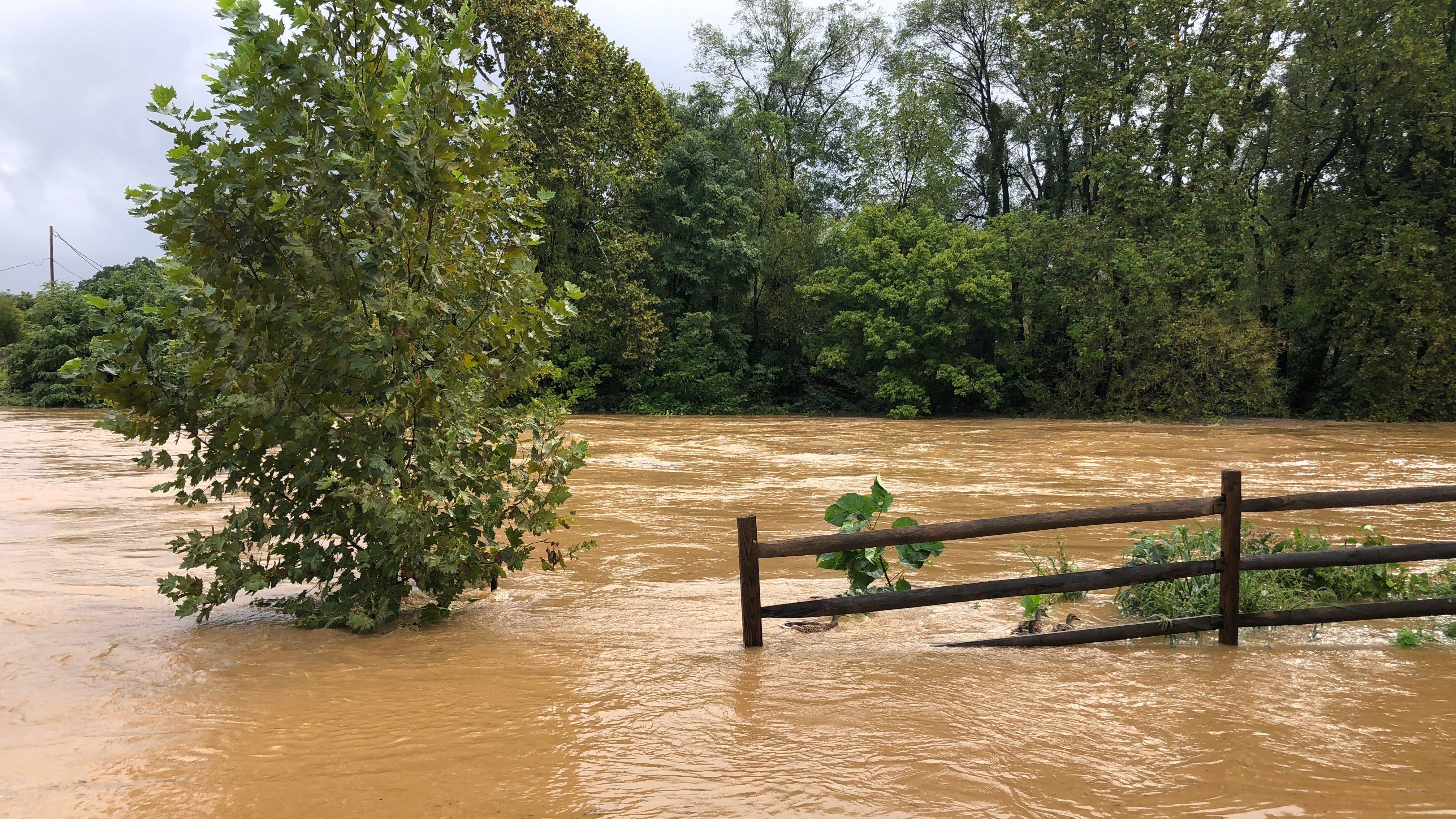 South River crested, flood warning still in effect for Staunton, Augusta, Waynesboro