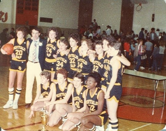The 1984 Buffalo Gap girls basketball team, which won the state championship by beating Floyd County