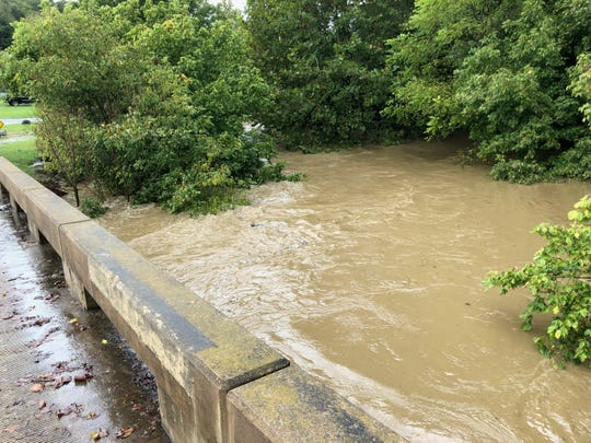 Photograph taken from bridge off 250 by Bobby's Towing on Jericho Road in Staunton on Monday, Sept. 17, 2018.