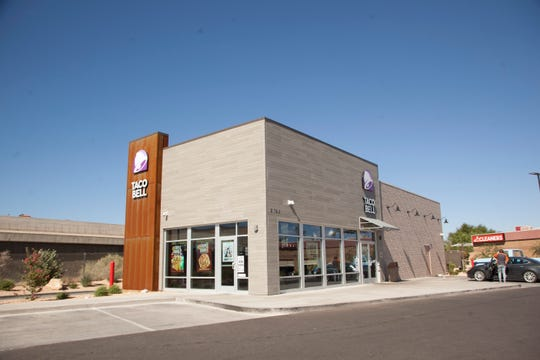 The new Taco Bell in Washington Monday, Sept. 17, 2018.