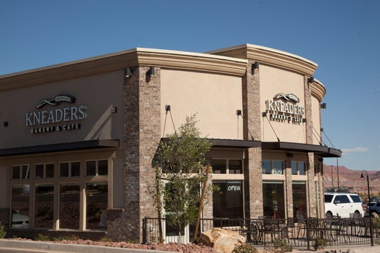 The new Kneaders Bakery at Dinosaur Crossing Monday, Sept. 17, 2018.