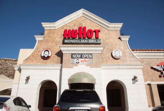 HuHot Mongolian Grill at the Zion Factory Outlets Monday, Sept. 17, 2018.