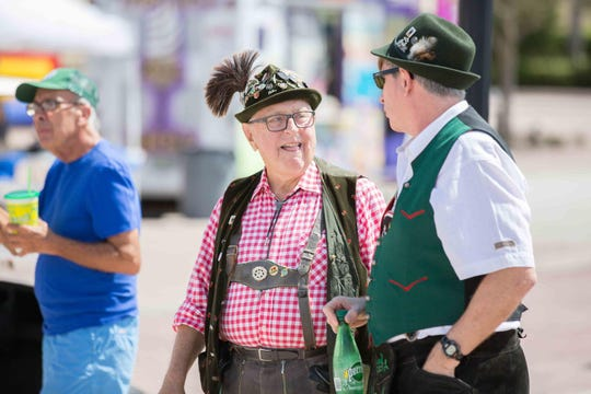Dress in your traditional German garb and celebrate Oktoberfest  on Friday, Oct. 5 and Saturday, Oct. 6.