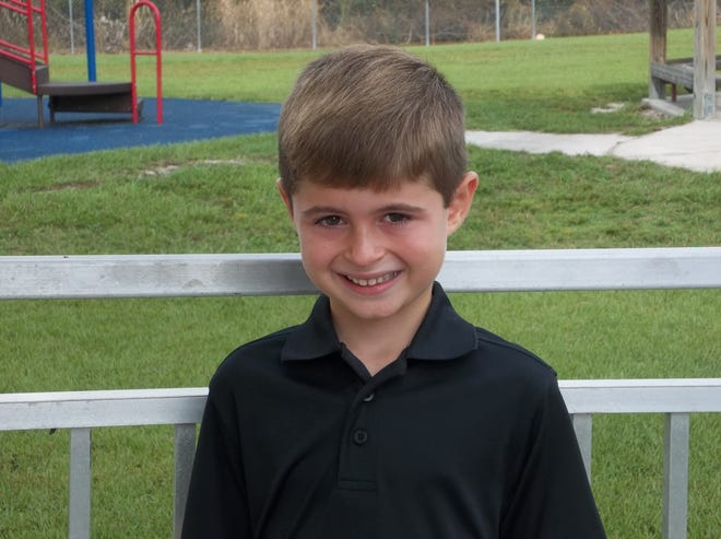 First-grader Dylan Marzucca is the CHARACTER COUNTS! Student of the Week for Sept. 26.