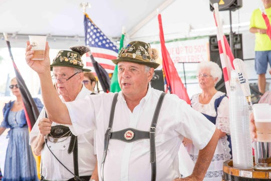 Celebrate the German culture during a salute to beer at the 2018 Oktoberfest, set for Oct. 5 and 6 at the Port St. Lucie Civic Center.