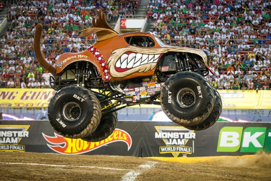 Monster Mutt is one of the featured trucks at the Monster Jam.