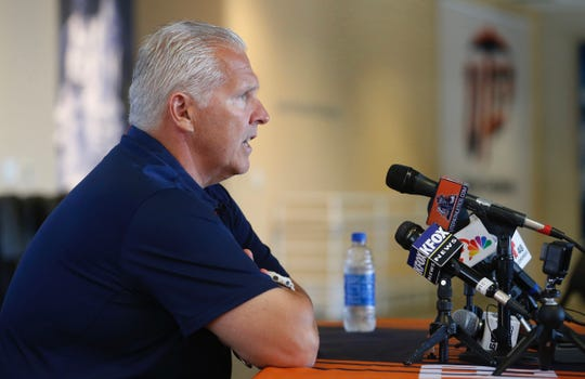 UTEP head coach Dana Dimel reviews his teams game and loss against the Tennessee Vols Saturday night then discusses this week's game against the Aggies of NMSU. The Miners will enter this week's game 3.5 point underdogs at home.