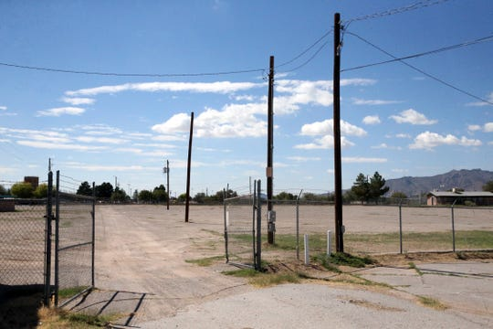 This vacant area in Ascarate Park, East of Ascarate Lake, will be converted into playing fields and a walking path. Most recently the site has been used to host the Sun City Music Festival.