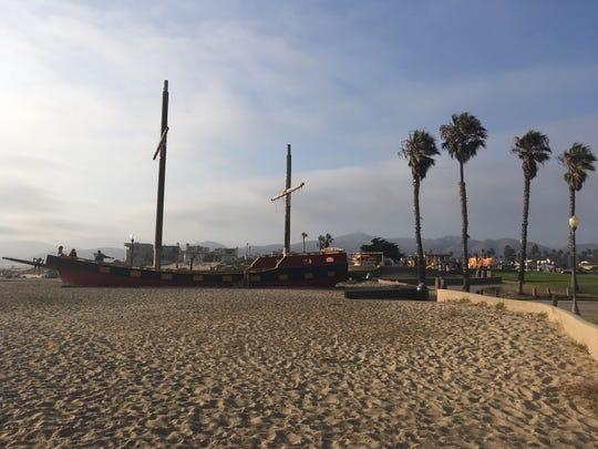 Marina Park in the city of Ventura.