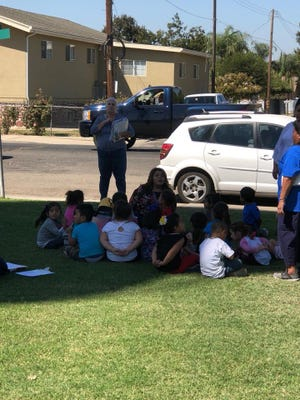 About 800 students from Cutler Elementary School, as well as a nearby preschool, were evacuated after a construction crew accidentally cut a natural gas line while working in the area.
