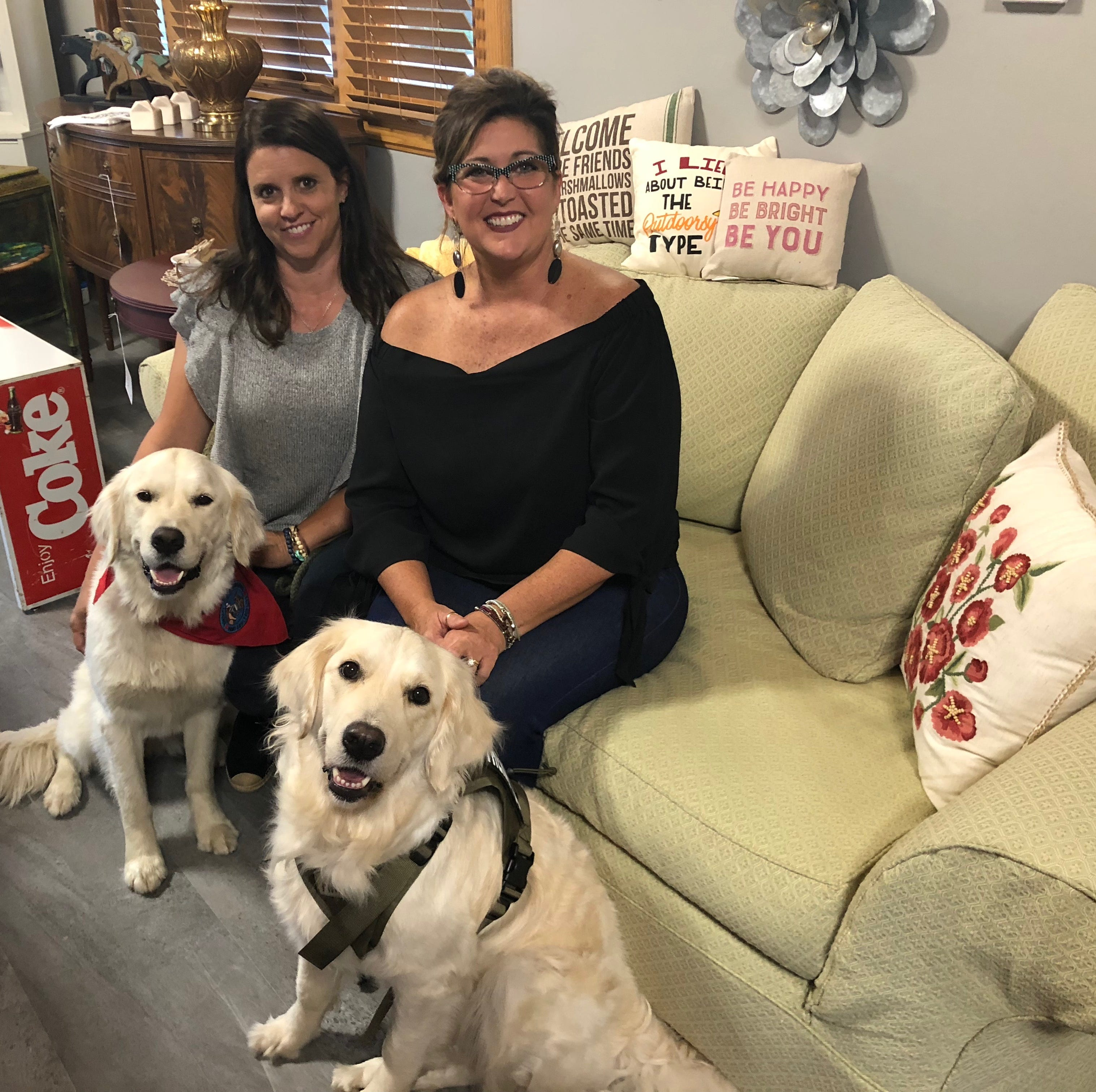 Business start-pups: Pair of dogs lead owners to opening of new antique store in Wausau