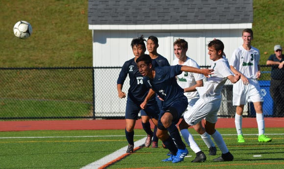 Pleasantville forward Marc Kyriakidis had two goal and two assists in a pair of wins this week.