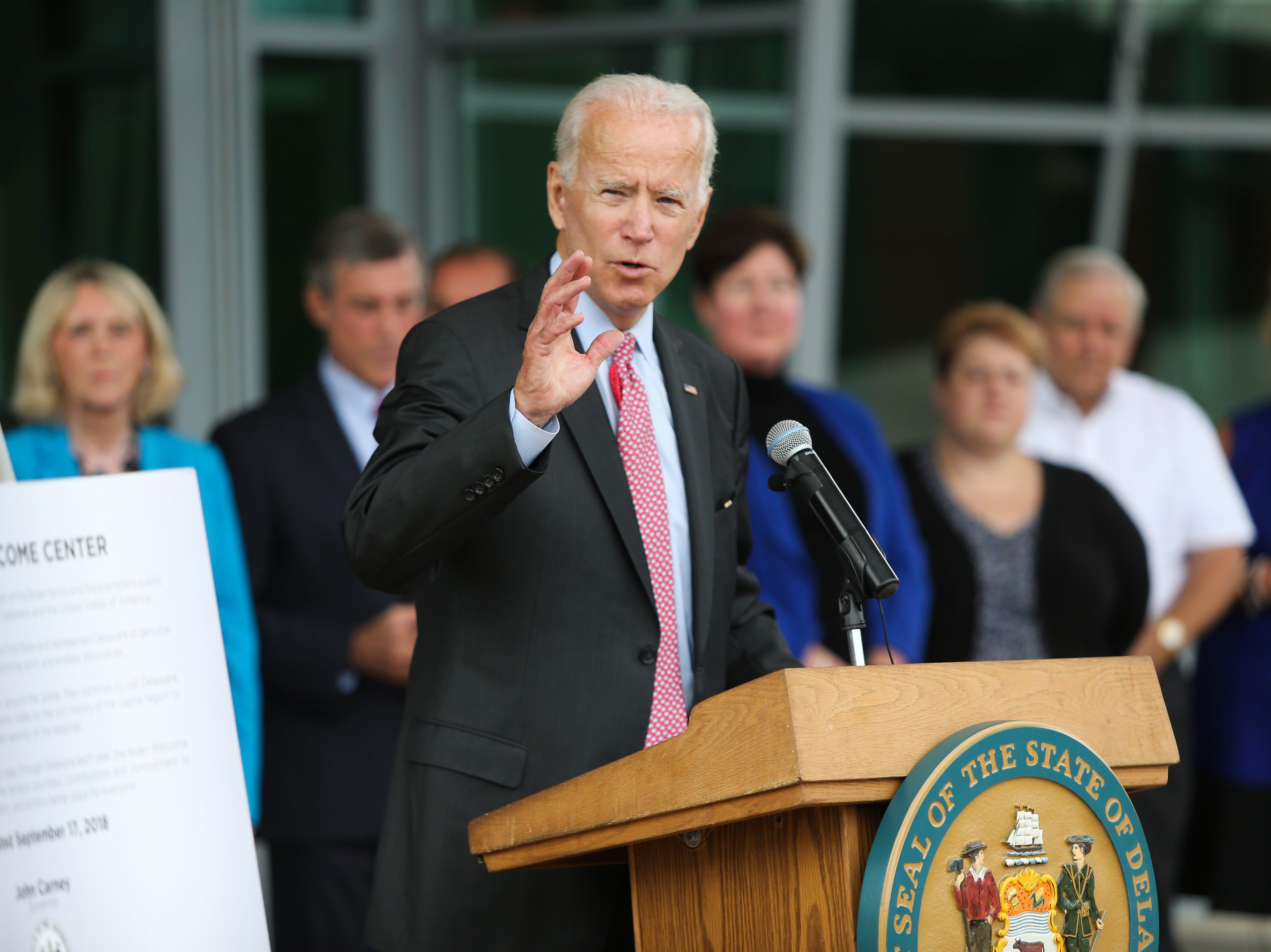 'Meat on the bone:' How Joe Biden changed the practice, ideology of Delaware politics