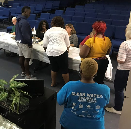On Saturday, Ellendale residents voted 81-21 in favor of a county water district that runs along North and South Old State Road.