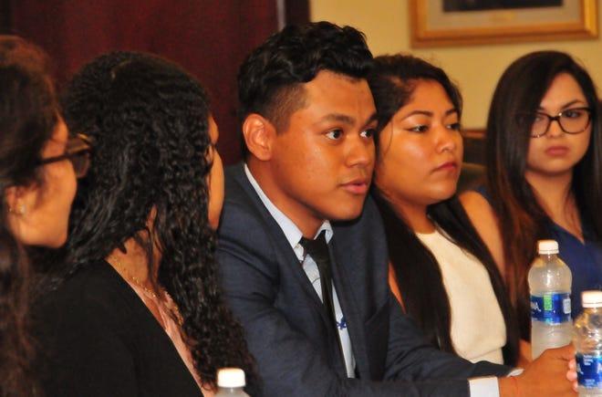Kevin Gutierrez-Hernandeza junior mass communications major at Delaware State University