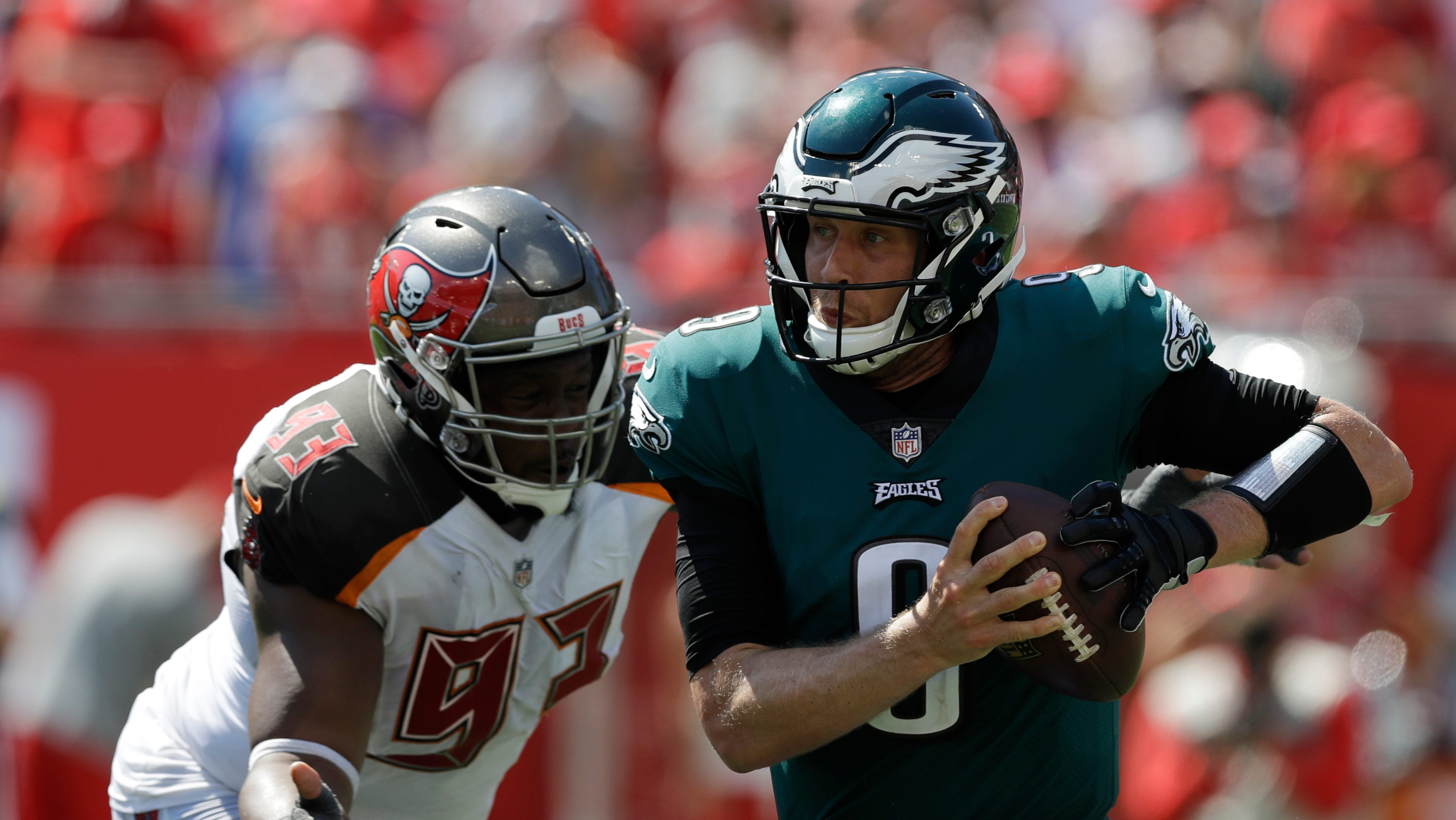 The Eagles can't rely on Carson Wentz to be their savior, at least early on.