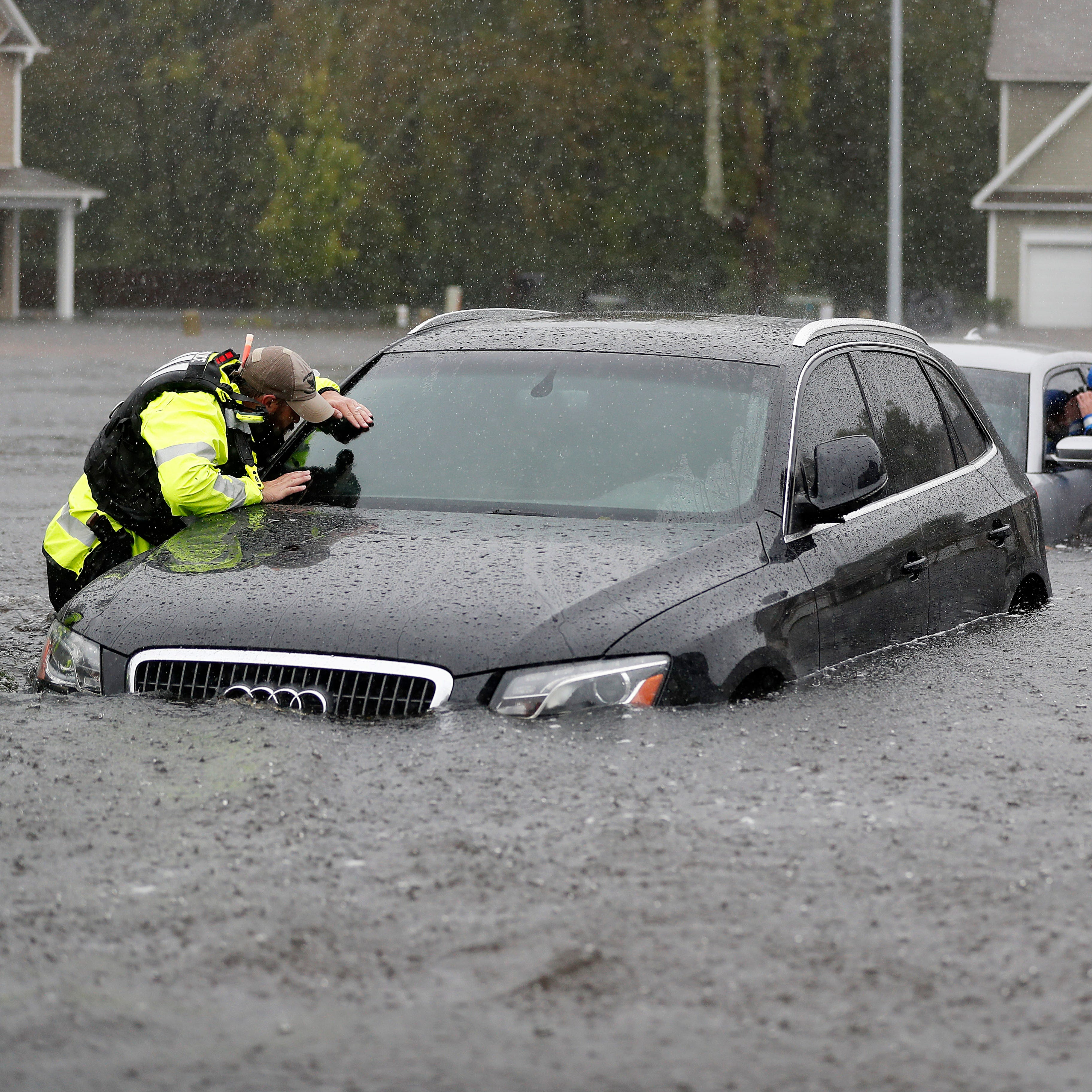 'There is no access to Wilmington' as flooding overwhelms North Carolina