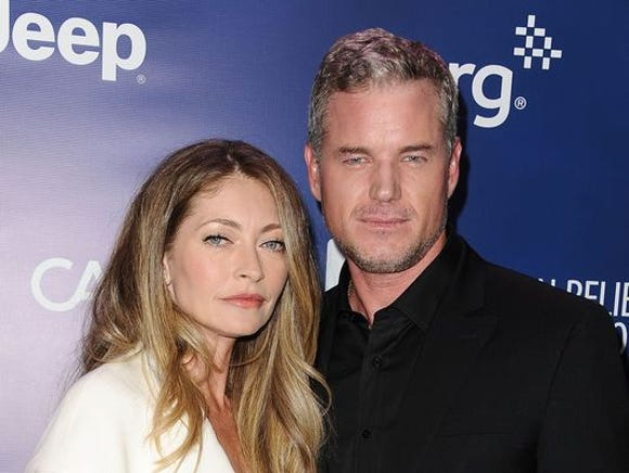 Rebecca Gayheart and Eric Dane in 2015