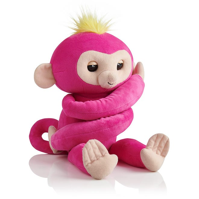 The Fingerlings HUGS monkey is expected to be one of the hot toys of the year.