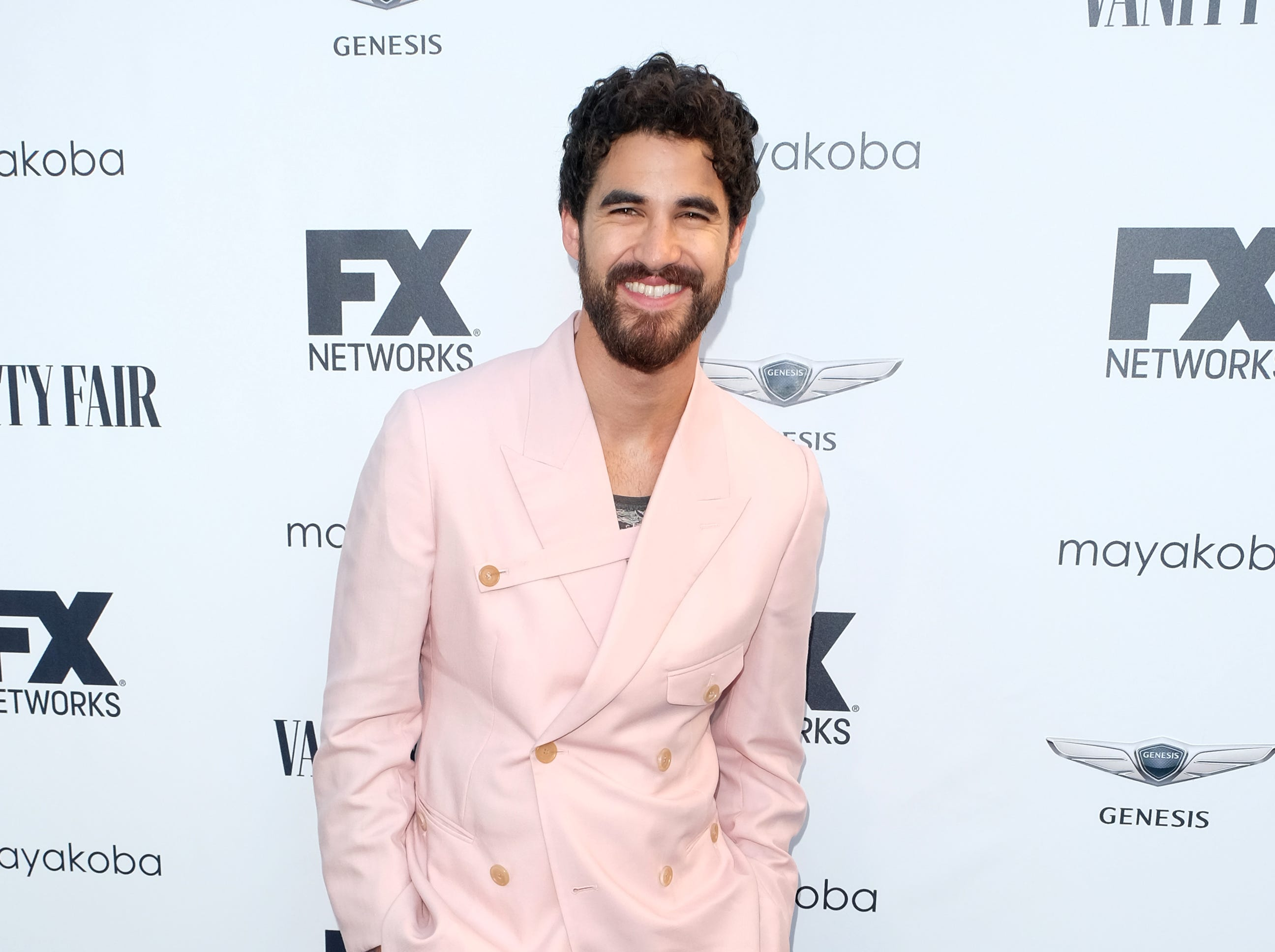 LOS ANGELES, CA - SEPTEMBER 16:  Darren Criss attends the FX And Vanity Fair Emmy Celebration at CRAFT LA on September 16, 2018 in Los Angeles, California.  (Photo by Matthew Simmons/FilmMagic) ORG XMIT: 775226232 ORIG FILE ID: 1034615910