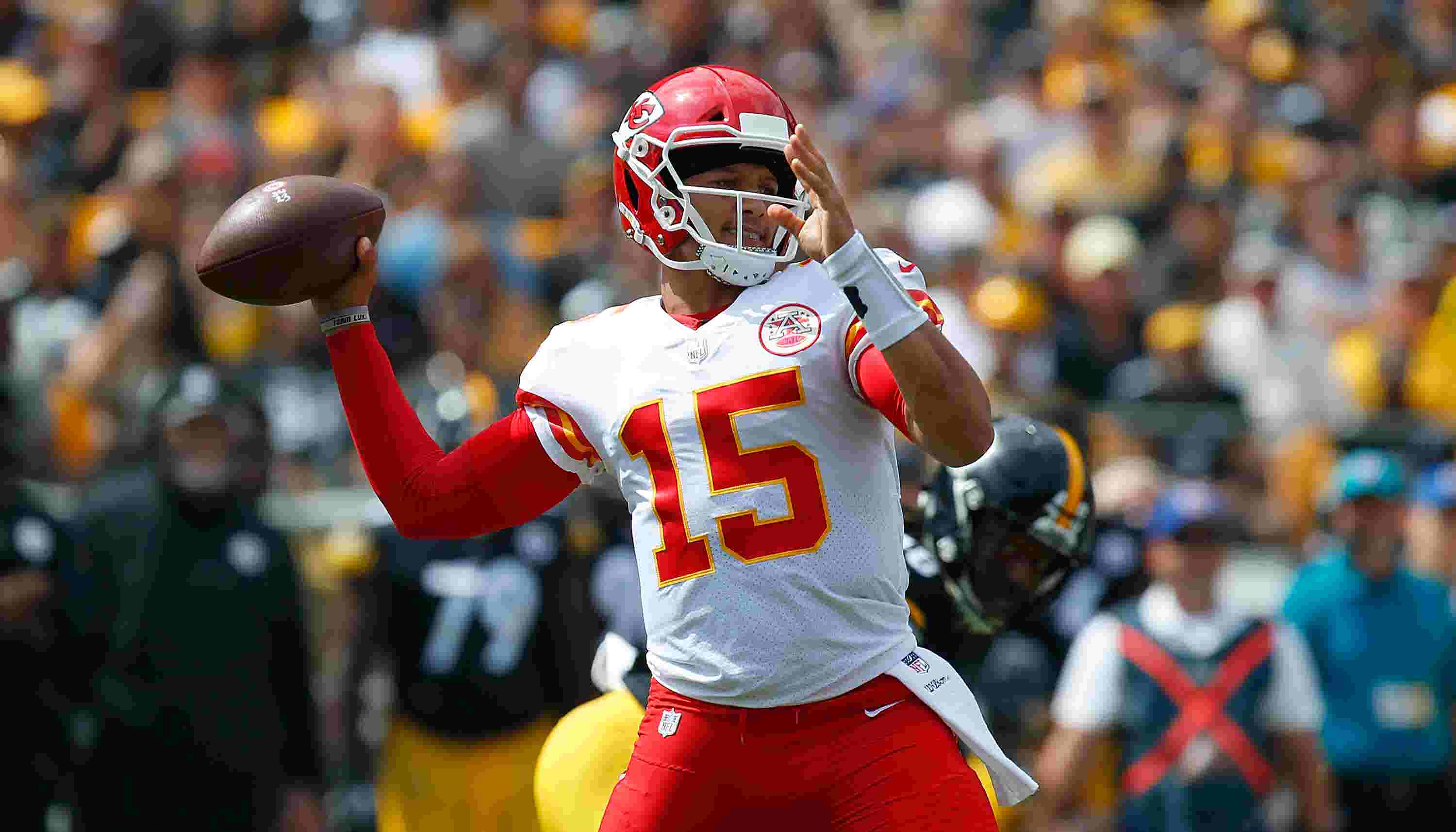 30ecd809b Patrick Mahomes – the NFL s hottest QB – grew up in MLB clubhouses