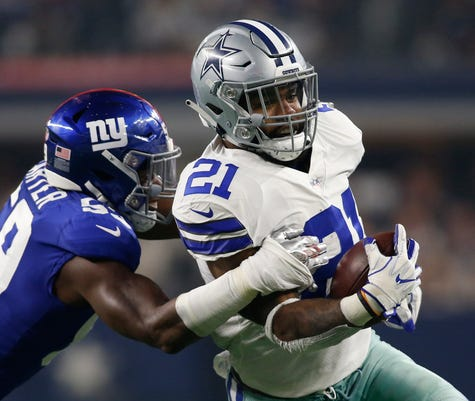 Nfl New York Giants At Dallas Cowboys