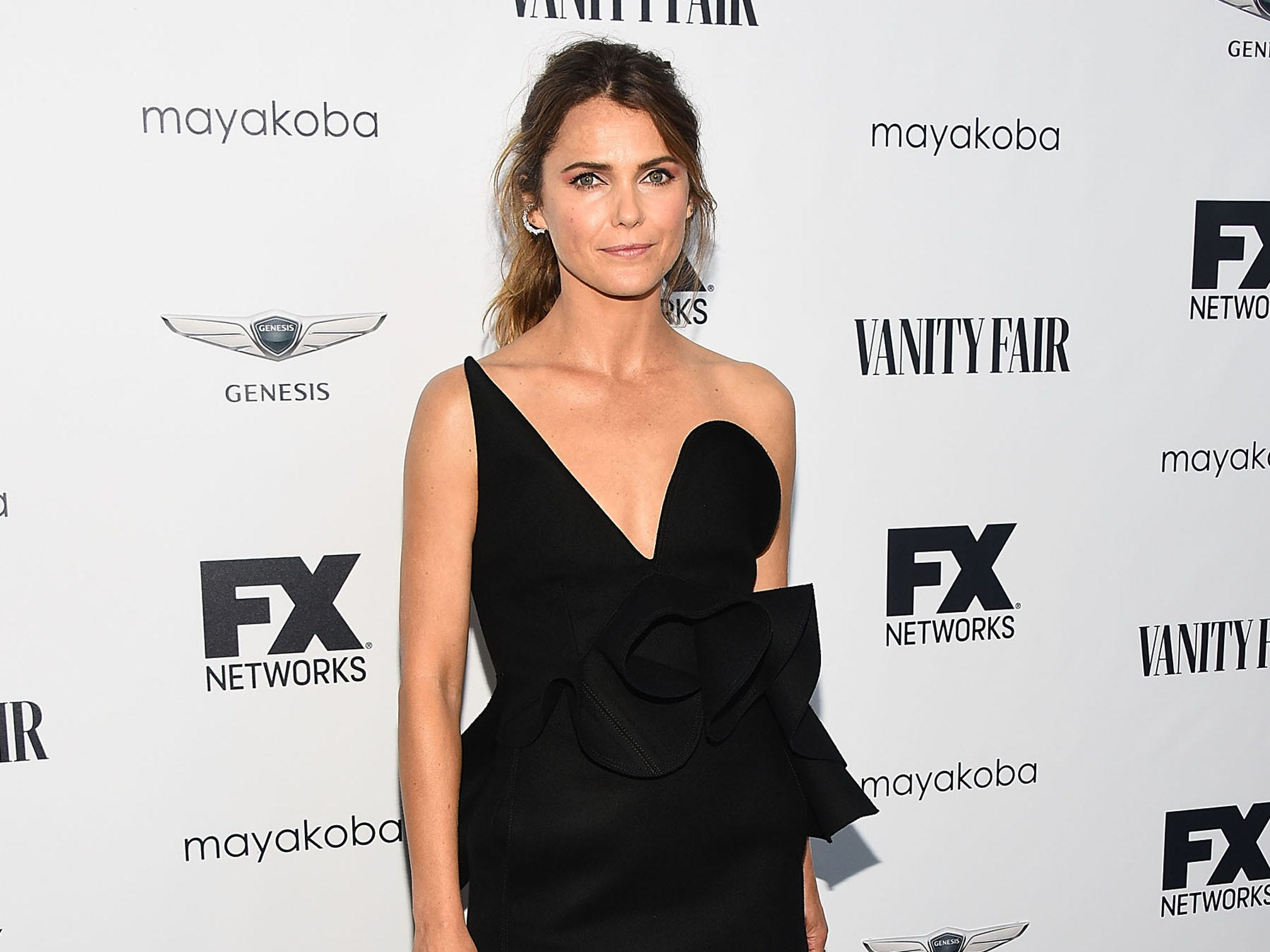 LOS ANGELES, CA - SEPTEMBER 16:  Keri Russell attends FX Networks celebration of their Emmy nominees at CRAFT LA on September 16, 2018 in Los Angeles, California.  (Photo by Araya Diaz/Getty Images) ORG XMIT: 775226231 ORIG FILE ID: 1034589356