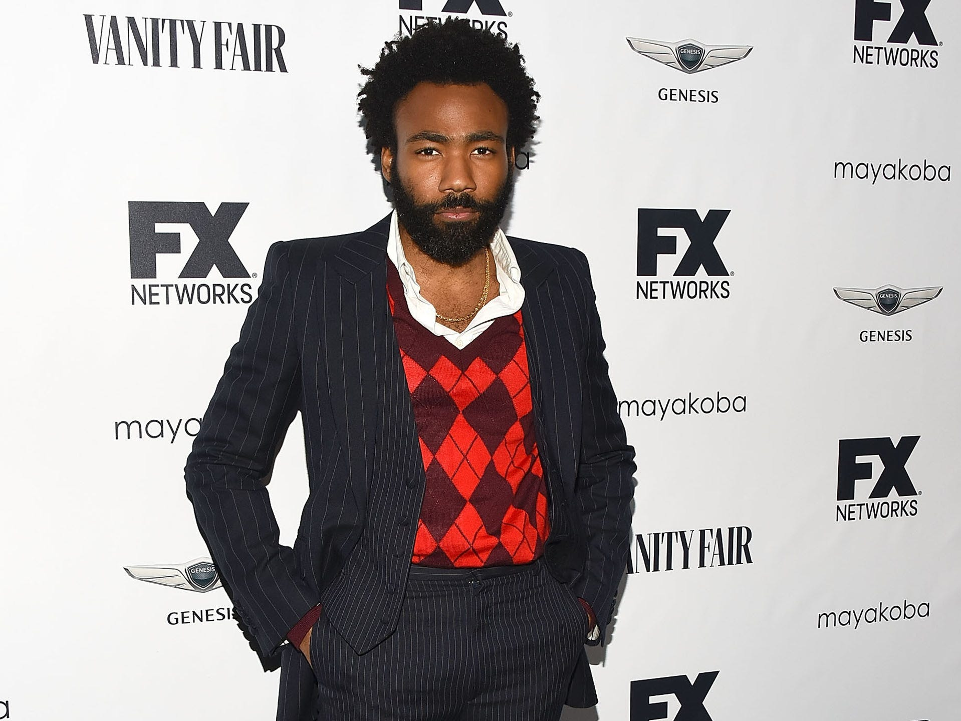LOS ANGELES, CA - SEPTEMBER 16:  Donald Glover attends FX Networks celebration of their Emmy nominees at CRAFT LA on September 16, 2018 in Los Angeles, California.  (Photo by Araya Diaz/Getty Images) ORG XMIT: 775226231 ORIG FILE ID: 1034589266