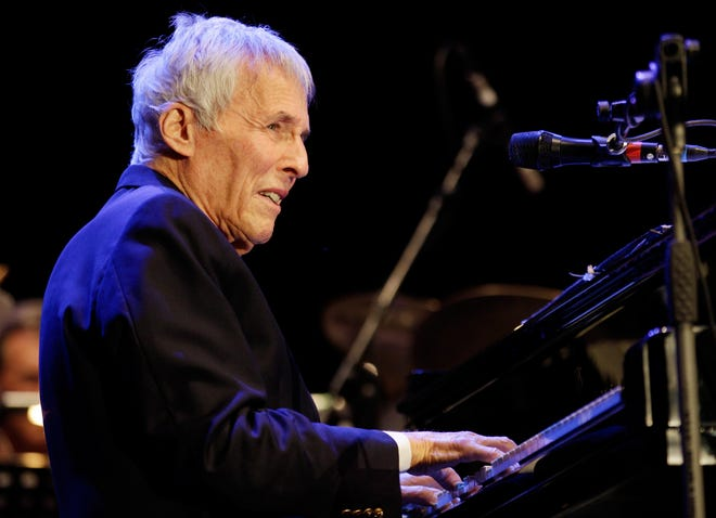 Pianist and composer Burt Bacharach performs during a 2011 concert in Italy.