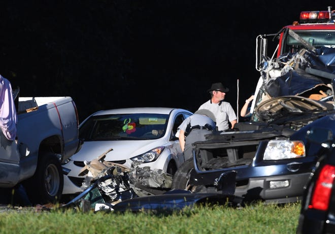 A collision involving several vehicles led to a fatality on Interstate 85 northbound in Anderson County on Tuesday, Sept. 18, 2018.