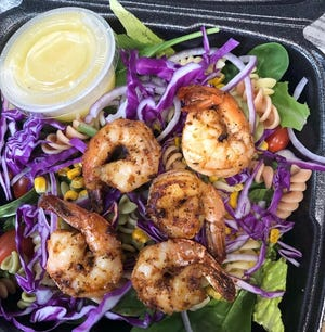 Miss B's Place in Jena offers a variety of food, including sandwiches, salads and grilled chicken and seafood.