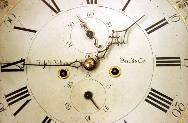 Peotter's Clock Service was known for cleaning and maintaining grandfather clocks.