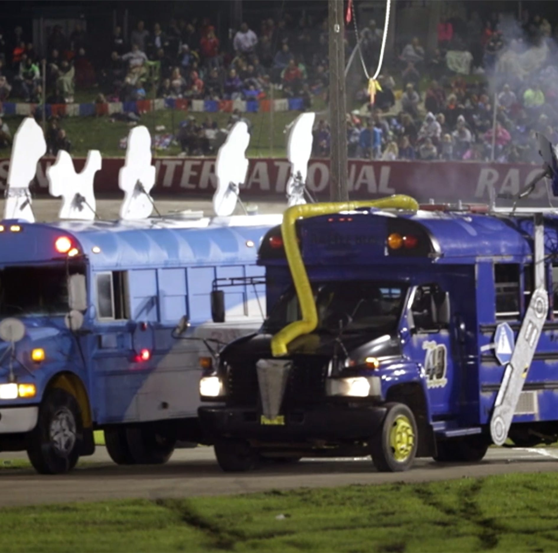 'I like to wreck nice stuff': Race team savors the explosive Eve of Destruction at WIR