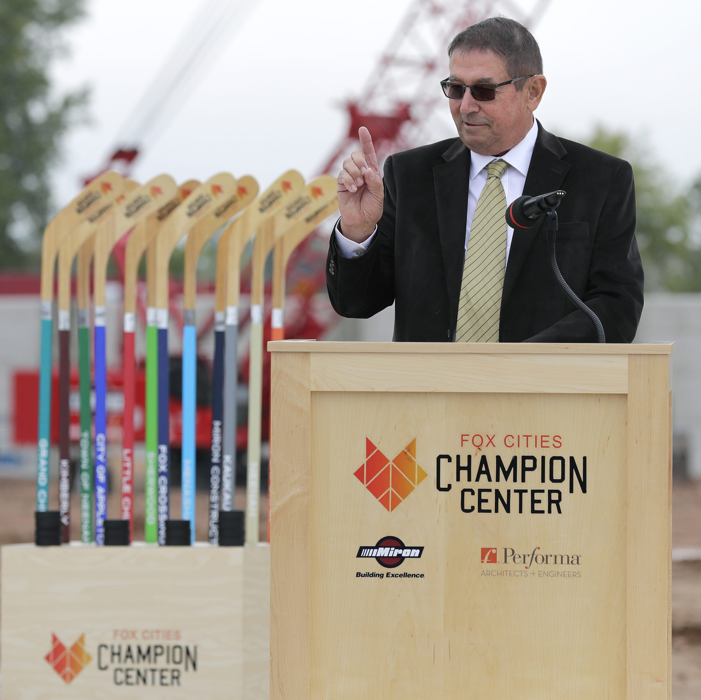 Groundbreaking ceremony launches $30M Fox Cities Champion Center project