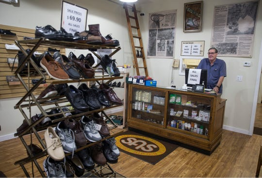 Purpuri Shoes, a family-owned store in Toms River, is closing after 102 years in business. Store owner Rick Purpuri is has decided to retire after being in the business for 43 years. Toms River, NJSunday, September 18, 2018