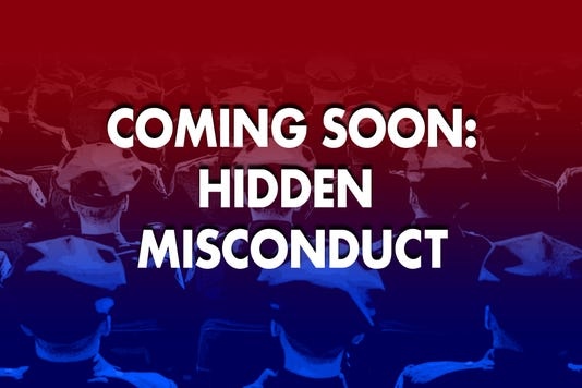Coming Soon Hidden Misconduct Promo