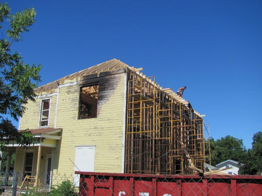 The Abilene Preservation League purchased Rosetyme the year after a fire left scorched marks on the house in the 1900 block of North Third Street.