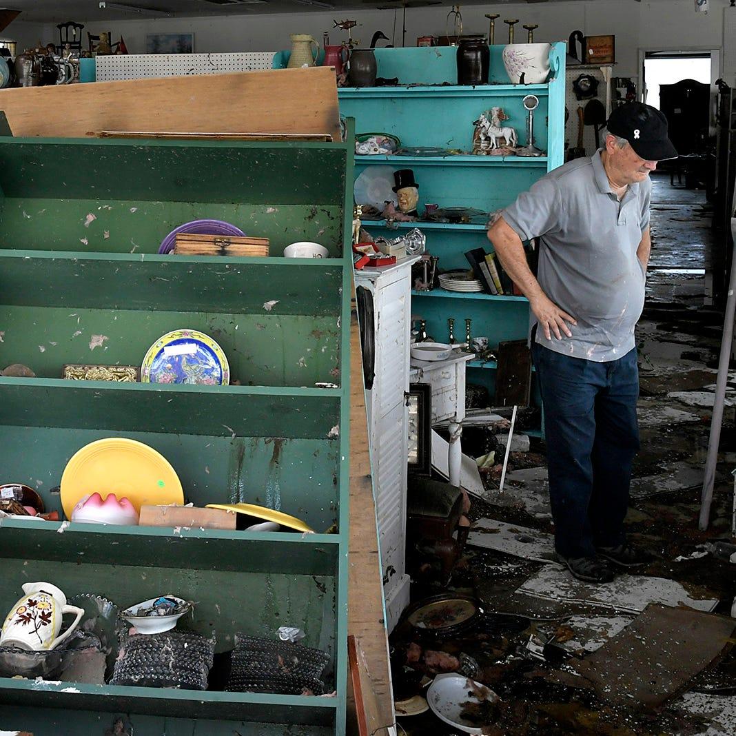 On the Carolina coast, Florence brought devastation: 'People are hurting'